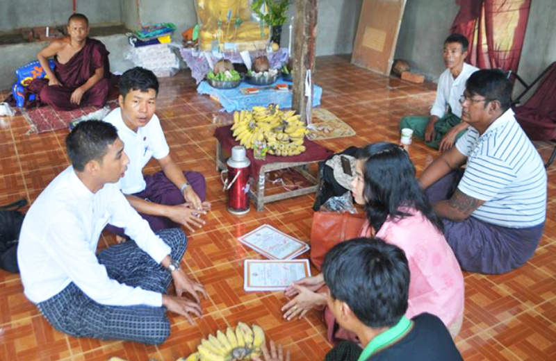HTOO Foundation sponsors Construction of a New Building for Thu Sidda Rama Monastery